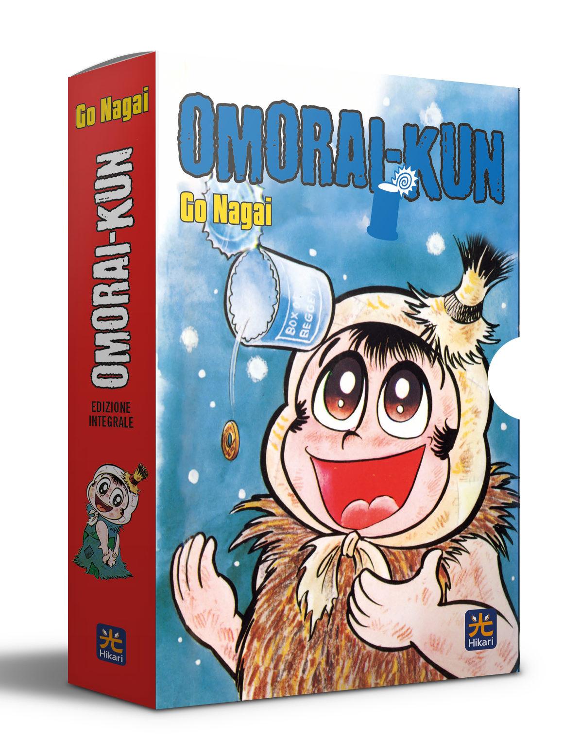 Omorai-kun. Edizione integrale in cofanetto. Preorder (Copia)